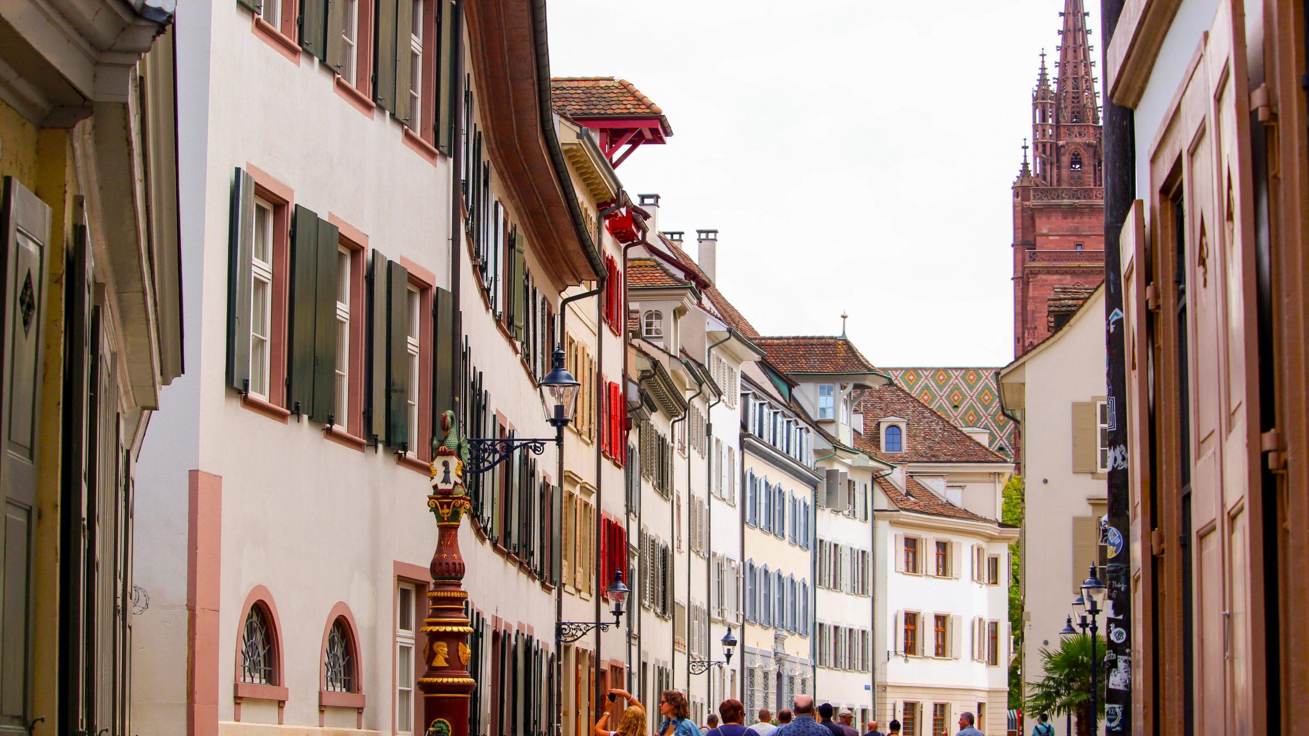 Hauptmarkt scaled - Basel: Bir Kültür Şehri