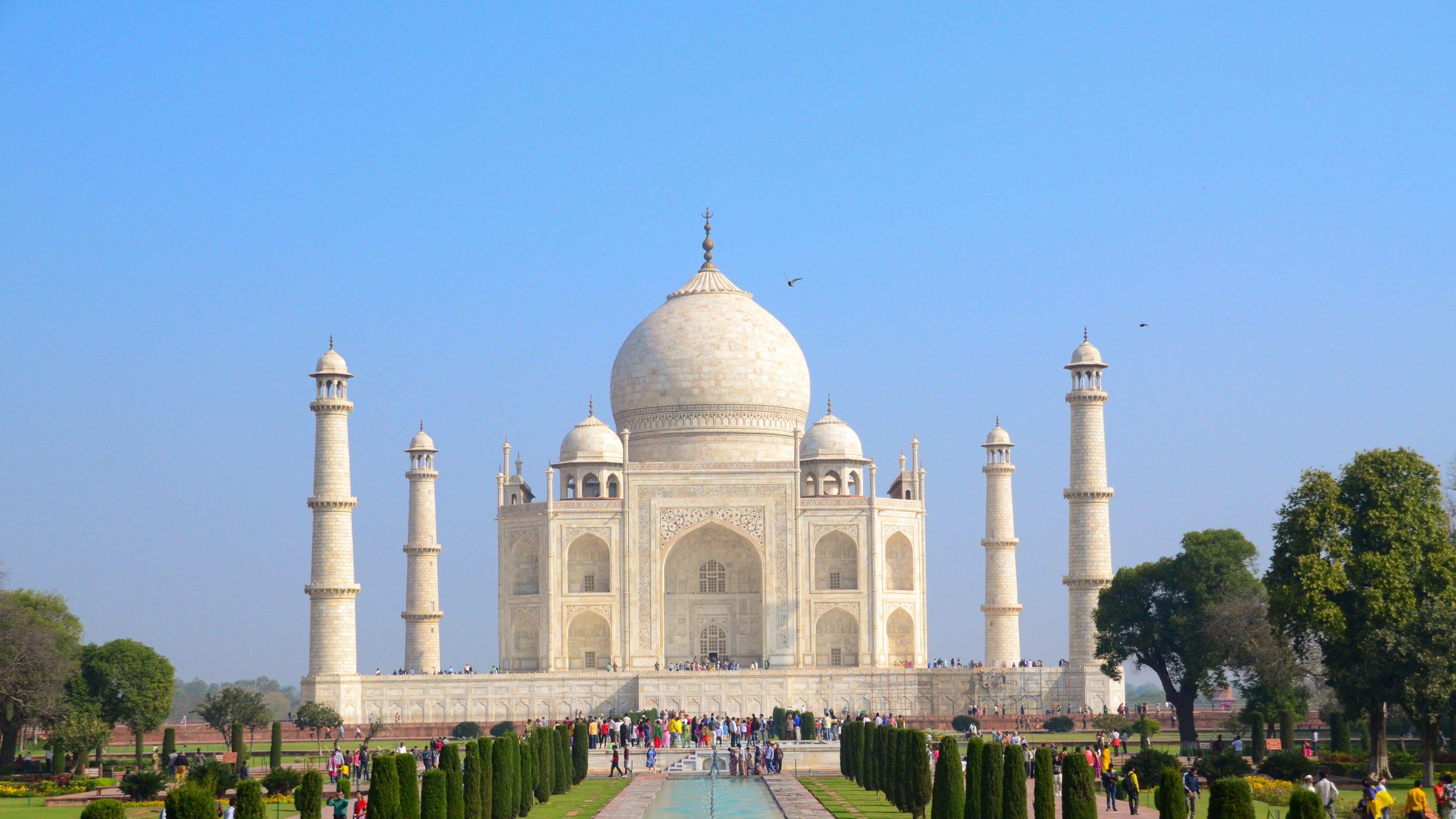 Taç mahal scaled - Agra Bir Masal Anlat Bana