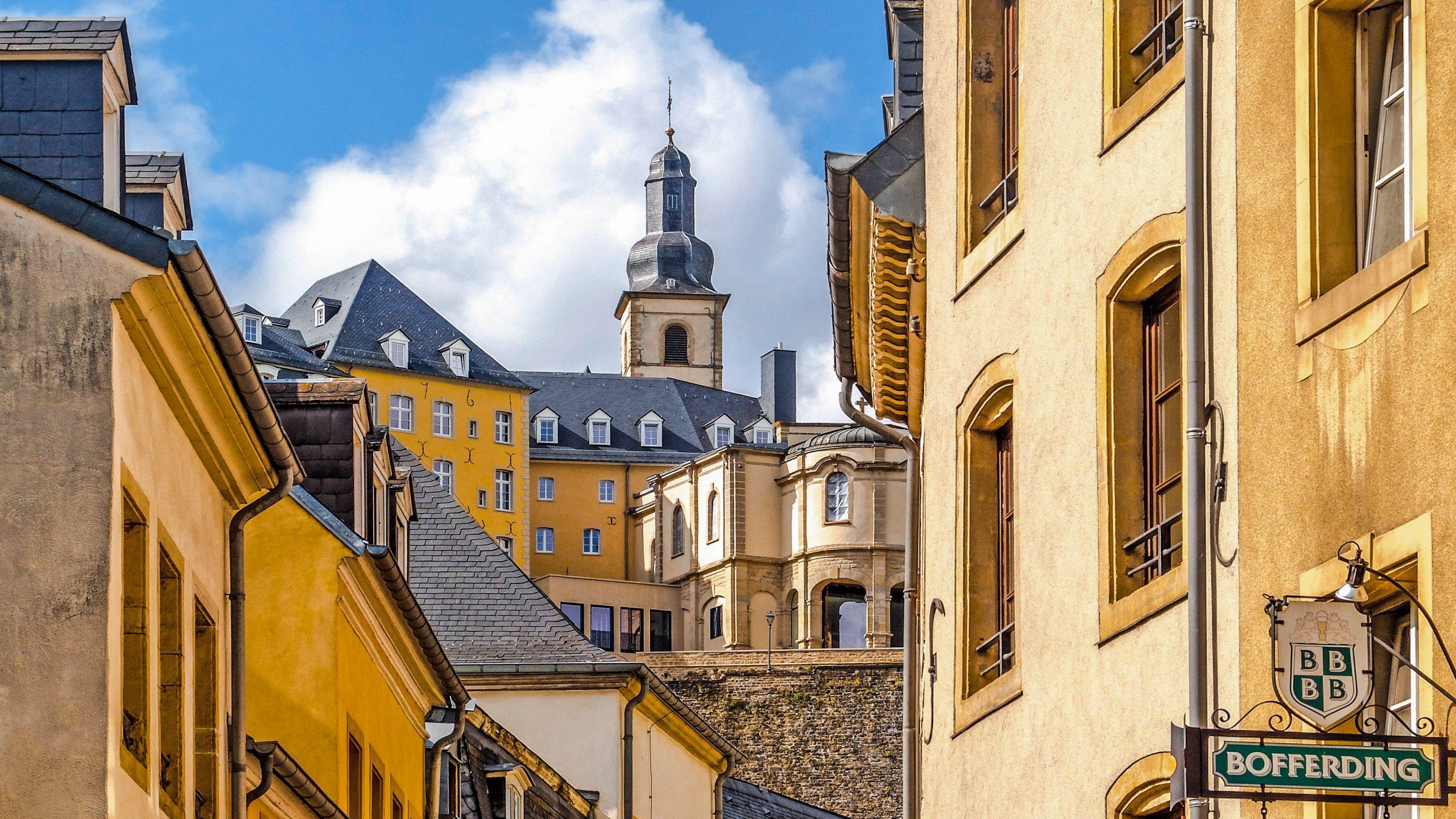 ehir grund scaled - Grund ve Hamilius : Lüksemburg'un Kalbi