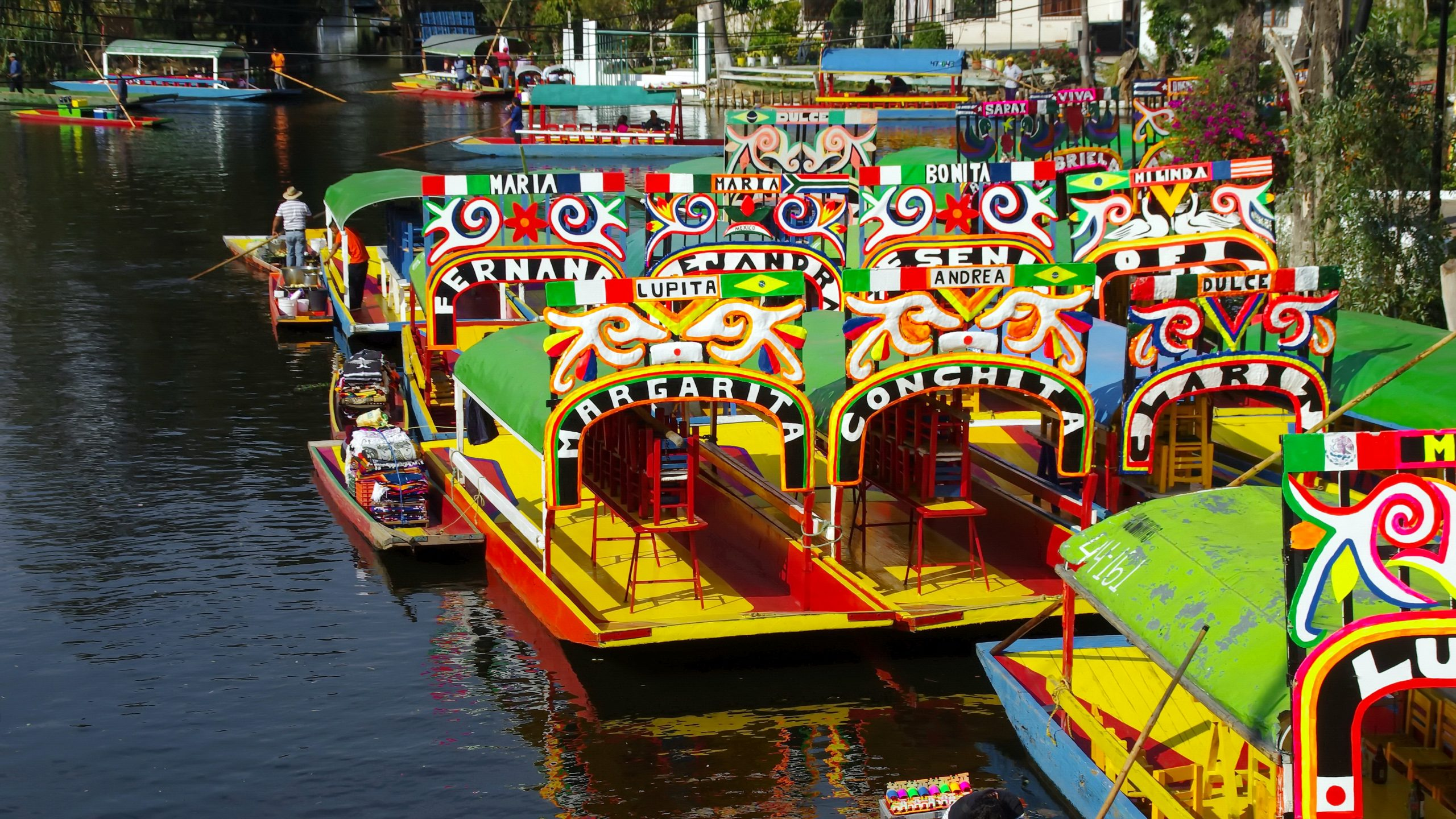 Xochimilco  scaled - Meksiko'yu 10 Mekanla Tanımak